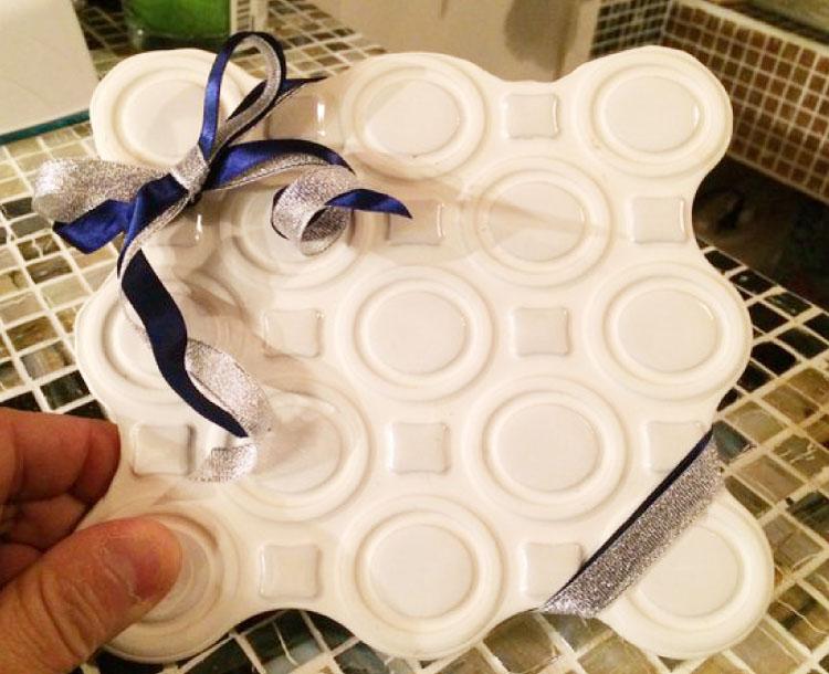 タイル鍋敷きプレゼント