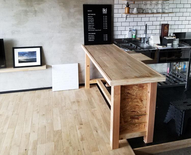 ダイニングテーブル制作