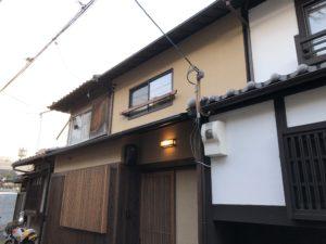 京都 御所西 京町家